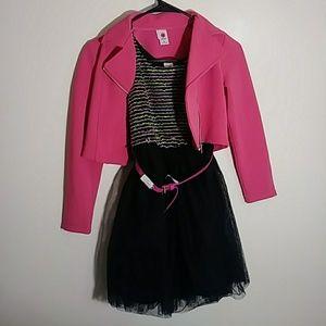 Total Girl Dress & Blazer